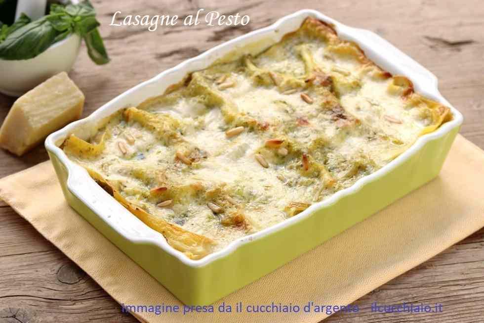 Ricetta: Lasagne al pesto a modo mio!