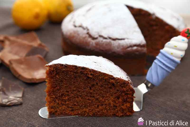 Torta al cioccolato ricetta facile