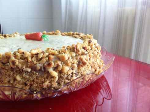 Ricetta: Carrot cheese-cream cake