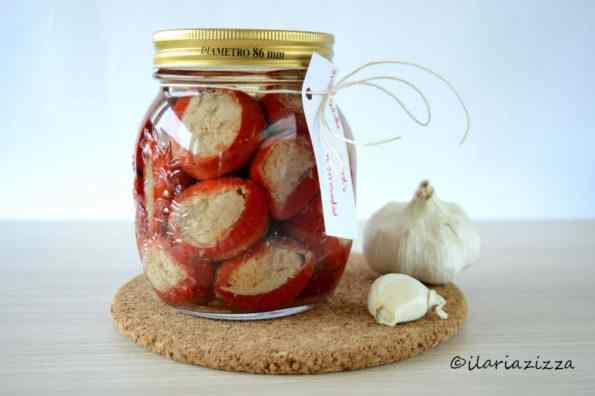 Peperoncini ripieni - ilaria zizza