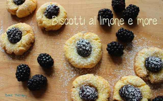 Biscotti al limone e more