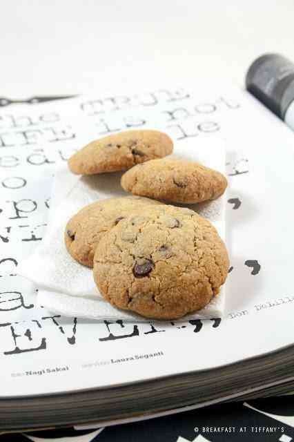 Ricetta: Biscotti con farina di farro e gocce di cioccolato