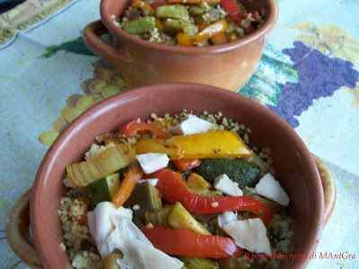 Ricetta: Cous cous alle verdure e pollo