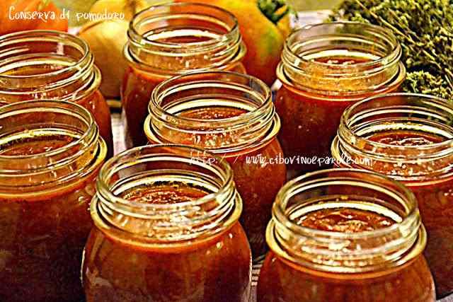 Ricetta: Conserva di pomodoro