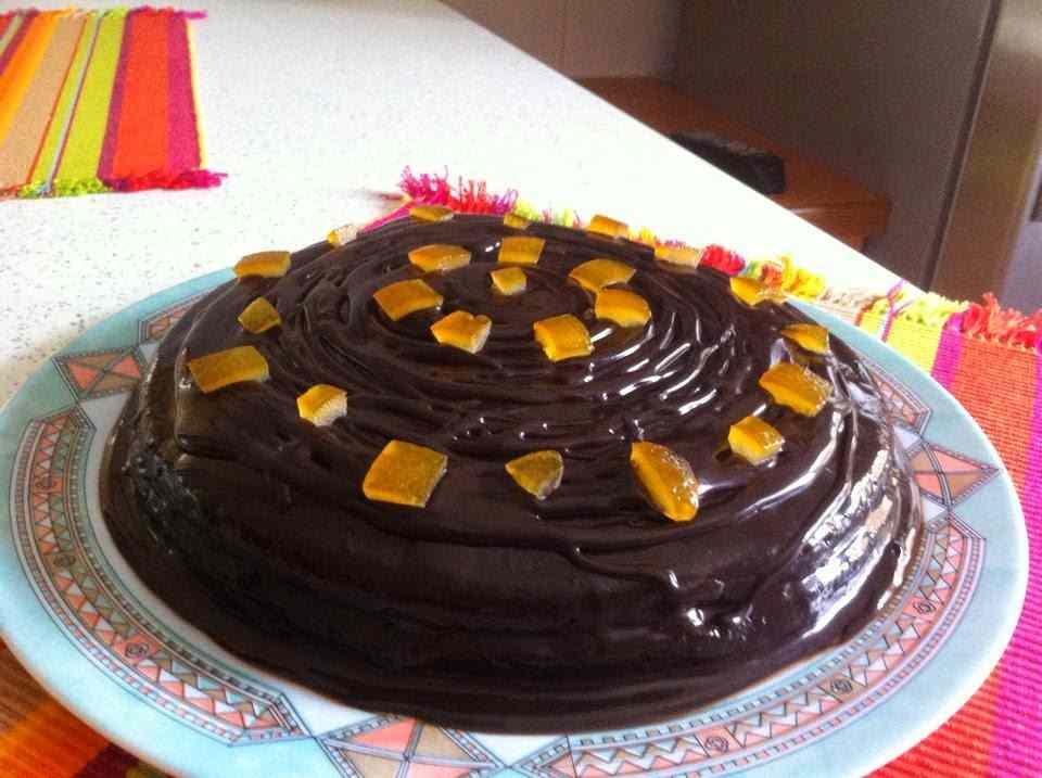 Ricetta: Torta all'arancia e cioccolato