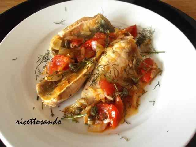 Ricetta: Filetti di pesce alla lampedusana