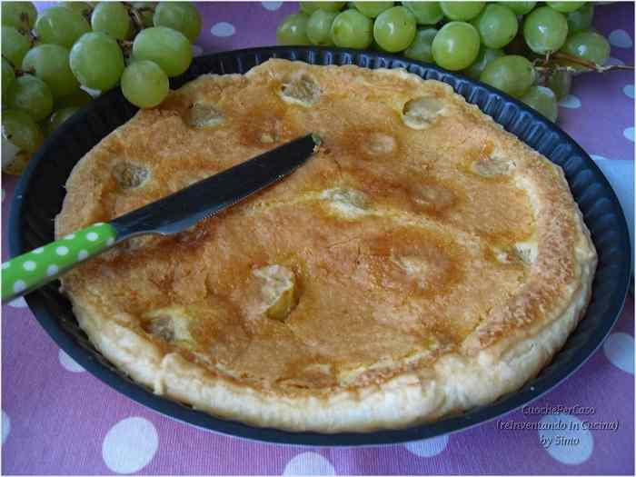 Ricetta: Crostata all'uva