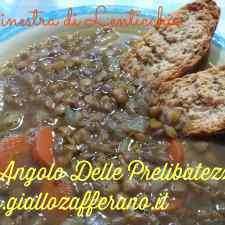 Ricetta: Minestra di lenticchie