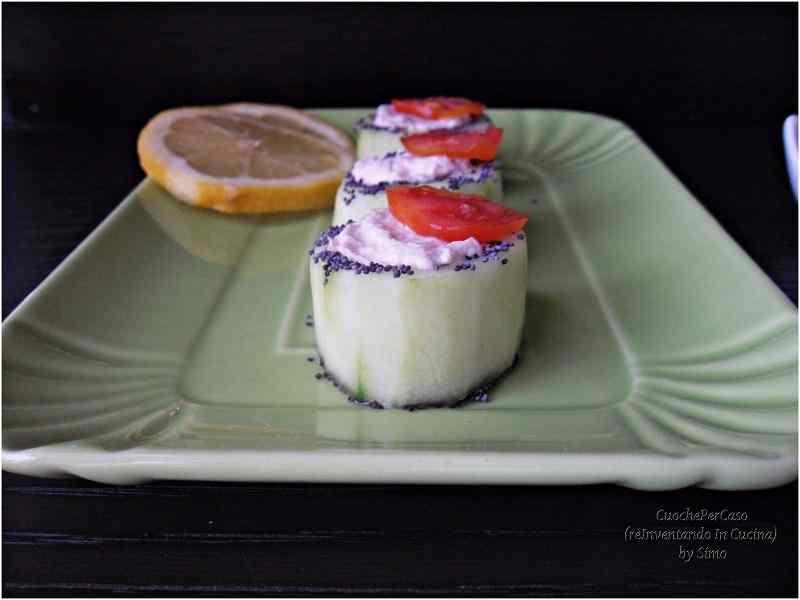 Ricetta: Cetrioli con crema al tonno