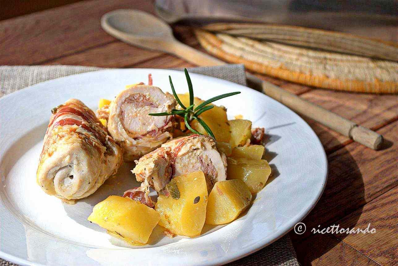 Ricetta: Involtini di pollo e patate